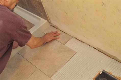 How To Remove A Shower Pan by How To Tile A Bathroom Shower Walls Floor Materials