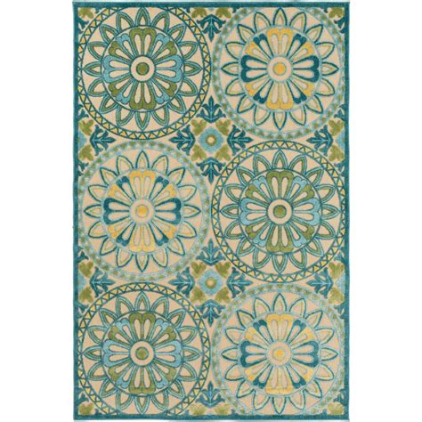 teal outdoor rug artistic weavers meliax teal 8 ft x 11 ft indoor outdoor