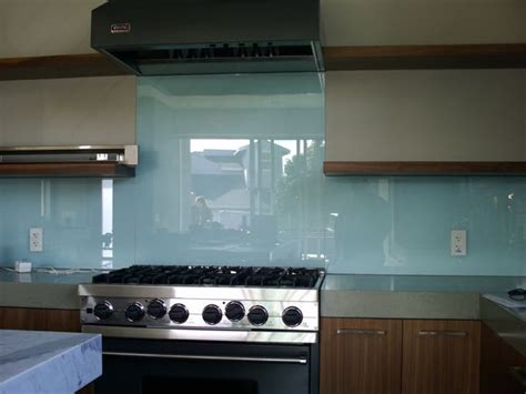 blue glass kitchen backsplash blue kitchen backsplash kitchen