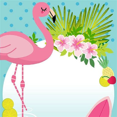 Flamingo Flamingos Pinterest Flamingo Flamingo Party And Fiestas Flamingo Invitation Template Free