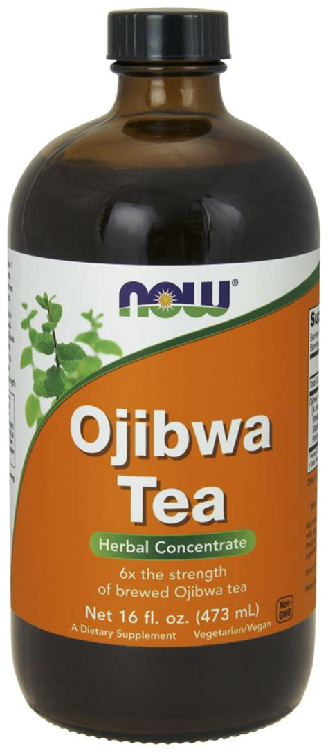 Does Ojibwa Tea Detox Thc by Ojibwa Tea Concentrate Liquid Now Foods