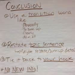 Tips On Writing A Conclusion For An Essay by The Basics Of A Conclusion For An Expository Essay