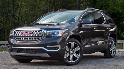 pictures of a gmc acadia 2017 gmc acadia denali driven picture 686382 truck