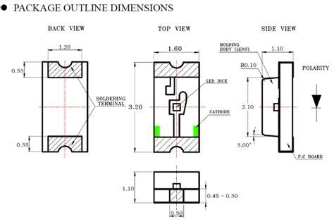 1206 resistor dimensions 1206 smd smt led surface mount 1206 smd 0 45 zen cart the of e commerce