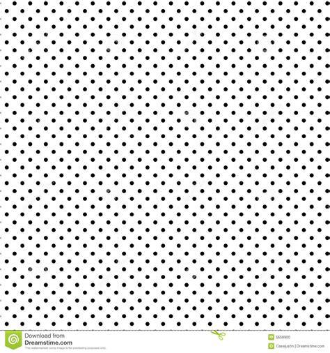 Alas Foto Motif Polkadot P001 eps polkadots zwart op witte achtergrond stock foto
