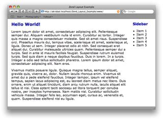 layout zend simple zend layout exle csdn博客