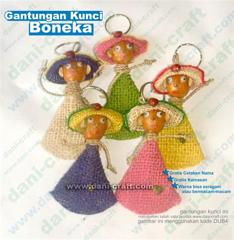 Gantungan Kunci Boneka Karet 88804053 gantungan kunci boneka souvenir pernikahan
