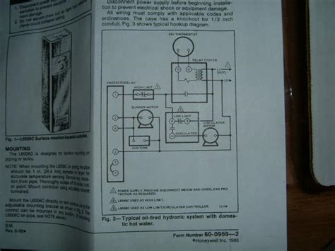 honeywell aquastat l8148j wiring diagram 40 wiring