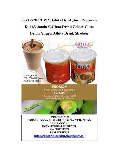 Gluta Kaleng 08815570221 wa gluta drink kaleng gluta drink medan