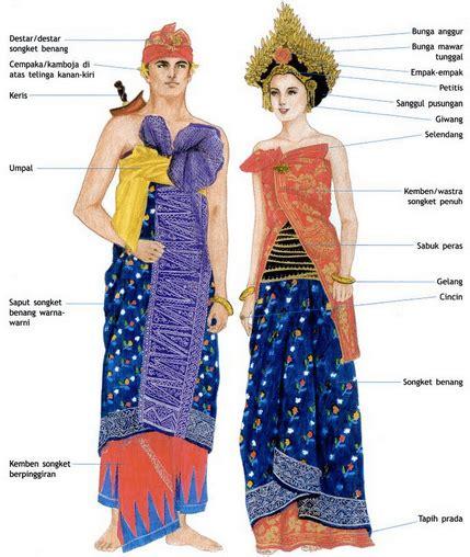 nama perkain kaum bali 5 pakaian adat bali pria dan wanita lengkap gambar