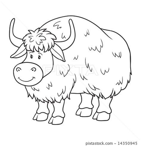 coloring pages yak for yak coloring page for search results