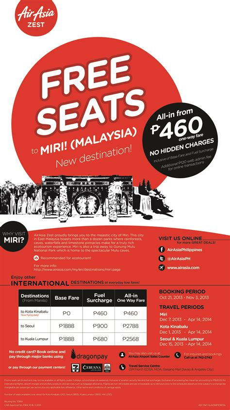 airasia zest contact number airasia zest opens direct manila to miri malaysia route