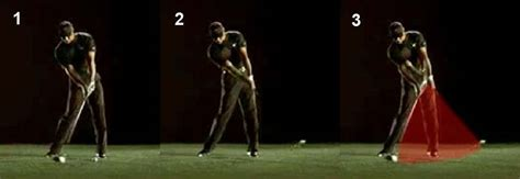 golf swing impact zone impact