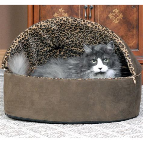 k h thermo kitty heated cat bed amazon com k h pet products thermo kitty heated pet bed