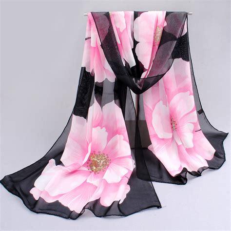 Scarf Motif Murah Berkualitas Shawl Motif Scarf Fashion Bandana pattern silk scarves shawl shoppershook