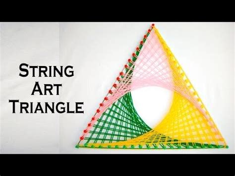triangle pattern maker string art patterns how to make string art triangle