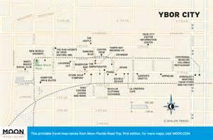travel map of ybor city florida