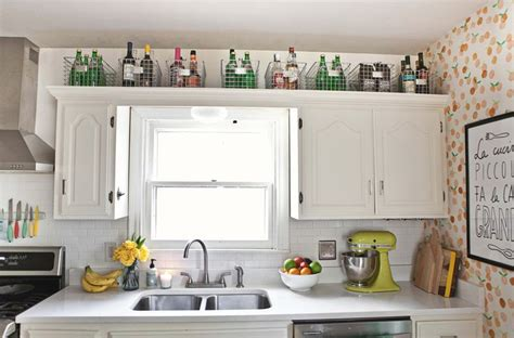 above kitchen cabinet storage ideas 15 creative storage ideas to give your kitchen an