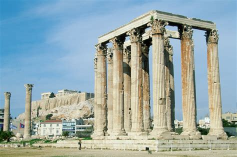 ancient buildings and structures in athens