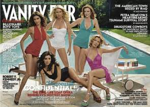 Vanity Fair Desperate Cast Of Desperate On Cover Of May 2005 Issue Of