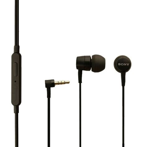 Headset Mh750 original sony mobile headset mh750 f r xperia tipo in schwarz in ear inear ohrh rer kopfh rer