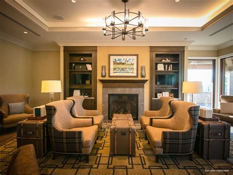 newport beach country club interior design  build