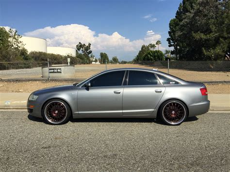 2006 A6 Audi by 2006 Audi A6 C6 With A Set Of Hre 549r Audi