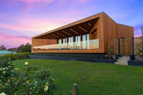 modern house wines modern family home winery design in victoria australia