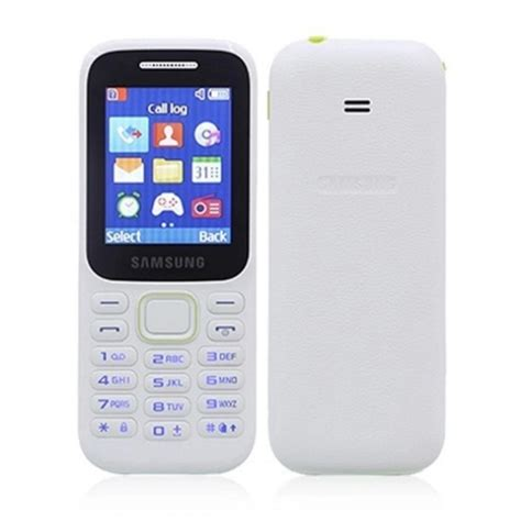 Ponsel Samsung B310e Jual Samsung Piton Sm B310e Putih Handphone Dual Sim Harga Kualitas Terjamin
