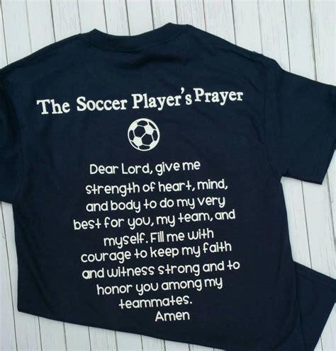 Pray Tshirt 1 soccer player s prayer t shirt