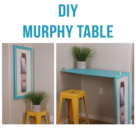 The 25 Best Ideas About Murphy Table On Pinterest Diy Murphy Desk