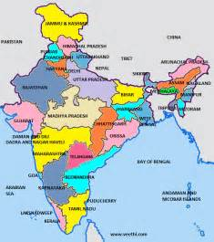 indian states india map will all states
