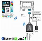Kit Mains Libres Bluetooth USB MP3 AUDI A2 A3 A4 A6 A8