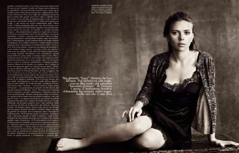 Johansson Pics From Vogue Magazine by Johansson Photoshoot For Vogue Italia October 2013