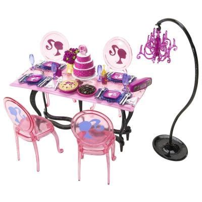 Glam Dining Room Furniture And Doll Set Glam Dining Set Pink Items I Am Selling 4