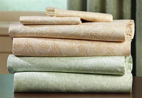 patterned cotton sheet set paisley pattern cotton poly sheet set ebay
