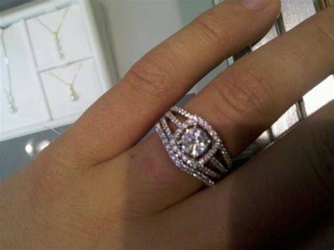 halo rings show me your wedding band with your halo