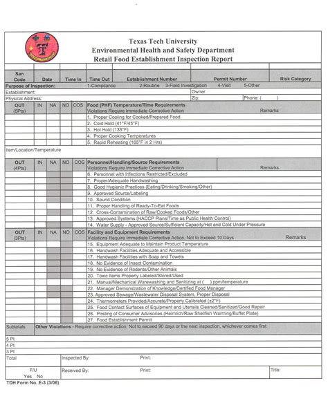 pest inspection report template pool chemical log sheets printable