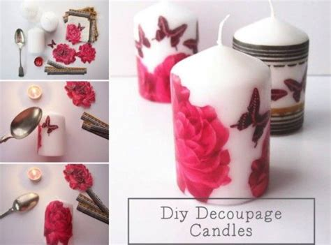 Diy Decoupage - decoupage metal tin cans craft tutorial beautiful