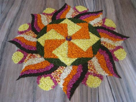 flower pattern rangoli design 20 simple diwali flowers rangoli designs pattern images