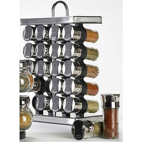 Spices Rack by Best Sales Olde Thompson 25 680 20 Jar Stainless Steel