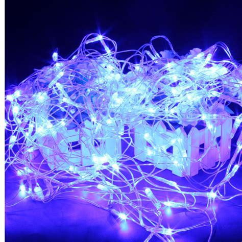 120 blue led web net fairy waterproof light for christmas