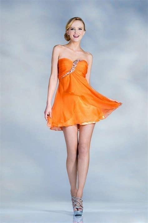 attraktive modelle von kleid  orange archzinenet