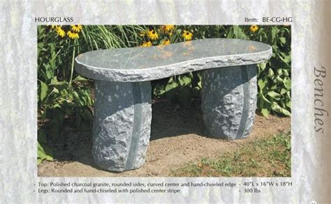 natural stone benches for garden 17 best images about granite benches on pinterest