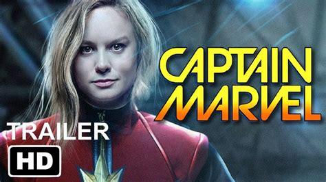 film kapten marvel marvel s captain marvel 2019 brie larson movie trailer
