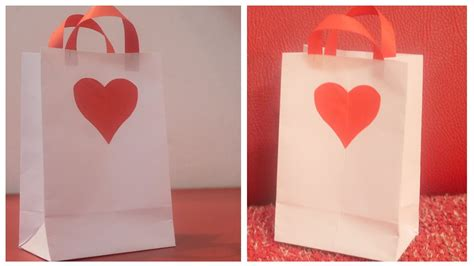 Make A Bag Out Of Paper - how to make a paper bag for gift diy paper bag for gift