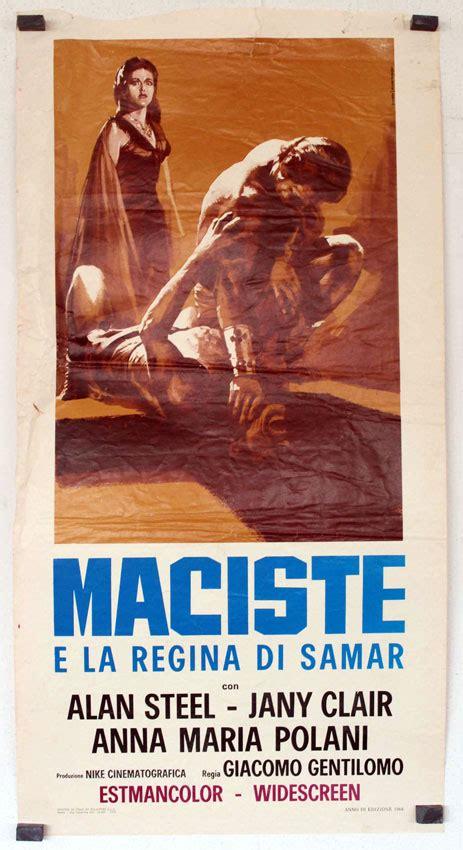 maciste e la regina di samar 1964 full movie quot maciste contra los fantasmas quot movie poster quot maciste e la regina di samar quot movie poster