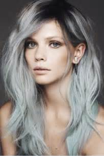 gray hair color trend hair trends dip dye ombre the treasure hunt