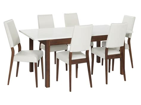 White Gloss Dining Table And Chairs Marceladick Com White Chairs For Dining Table