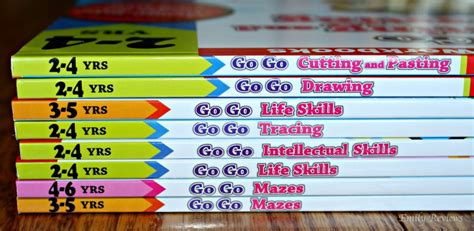 Gakken Work Book Intellectual Skills 2 4 Years gakken s go go series activity workbooks for 2 5 year olds